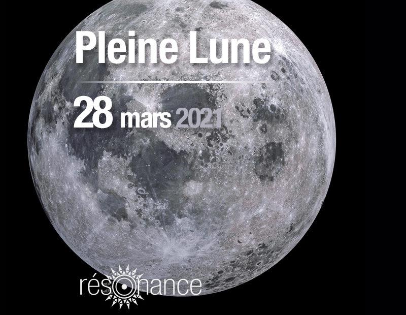 pleine lune 28 mars 2021