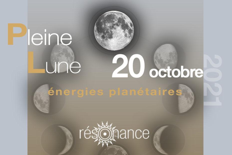 energies pleine lune octobre 2021